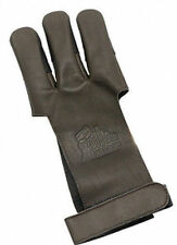 OMP Mountain Man Leather Shooting Glove - Brown Medium