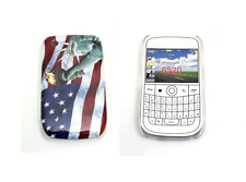 Cover blackberry curve 8520 9300 carcasa protective with flag USA y statue