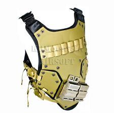 Tactical Body Armor DS Vest with Plastic Pad & Pouch / DE (KHM Airsoft)