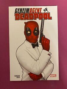 Geheimagend Deadpool 2021 -. Marvel .. Panini Comics .. 140 Seiten .. NEU!!!