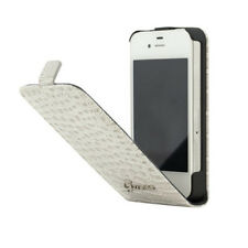 HOUSSE RABAT PROTECTION CROCO BEIGE POUR APPLE IPHONE 4 ET 4S