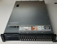 Dell R720 Server w/ 2x 10-Core 2.5GHz E5-2670v2, 96GB, 12x 1.2TB, H710p, 16-Bay
