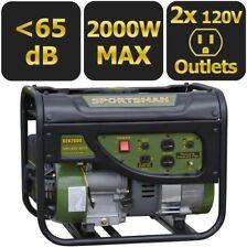 Sportsman Gasoline Gas Portable Generator 1400-Watt 120-Volt AC 12-V DC Outlet