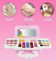 Kinder Kosmetikkoffer Kosmetiktasche Schminkkoffer Mädchen Makeup Spielzeug Set.