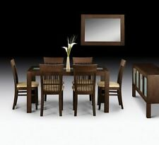 Kitchen Up to 8 Seats Dining Tables Sets with 6 Pieces