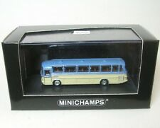 Bus Mercedes Benz O302 1965 Blue & Cream Minichamps 1 160 169035181 Miniature