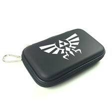 Nintendo DSi 3DS Travel Hard Carry Case Pouch with Legend of Zelda Hylian Crest