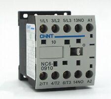 9Amp Coil 220VAC NC6-0910 AC Mini Contactor CHINT [SN4]