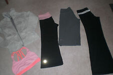 Lot of Lululemon Pants, Crops, Shorts, Jacket and Work Out Bra sz 4