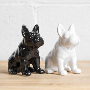 16cm Sitting French Bulldog Ornament Dog Sculpture Statue Figurine Gift Frenchie
