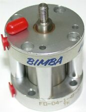"Bimba Pancake 1"" Air Pneumatic Cylinder Fo-04-1-4F-Mt New"