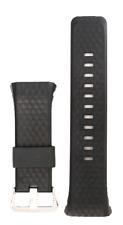 Casio black rubber watch band WSD-F20