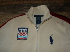 Official 2010 Team USA Olympic Ralph Lauren Wool Jacket Vancouver Games Youth XL