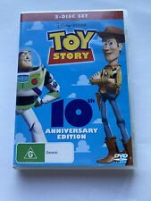 TOY STORY 10 Anniversary Edition RARE 2 Discs DVD- Region 4 in GC