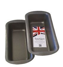 2X 1LB Samuel Groves Non Stick Loaf Tins Cake Bakeware Pastry Baking Bread