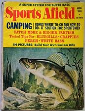 SPORTS AFIELD MAGAZINE APRIL 1969 VINTAGE HUNTING & FISHING - CAMPING SECTION