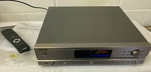 Yamaha CDR-HD1500 HDD/CD Recorder Hard Drive CD Player With Remote Instructions
