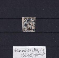 Hannover Nr. 17 gestempelt + geprüft (384d)