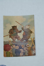Old Vintage Postcard Tightrope Seymour Eaton Roosevelt Bears 1906 Floyd Campbell