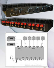 Commercial Grade Speaker Selector Switch Volume Control Accepts 12gauge Wire