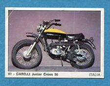 MOTO 2000 - Panini 1972 -Figurina-Sticker n. 83 - GARELLI JUNIOR CROSS 50 -Rec