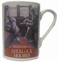 THE ADVENTURES of SHERLOCK HOLMES MUG CUP, 4 DESIGNS TO CHOOSE FROM, COLLECTORS