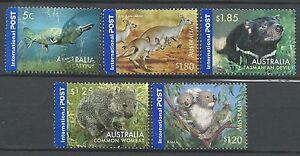 ˳˳ ҉ ˳˳AUI07 Australia International set 2006 High Values Kangaroo Koala Wombat