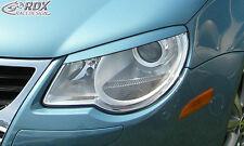 RDX Scheinwerferblenden VW Eos 1F -2011 Böser Blick Blenden Spoiler Tuning
