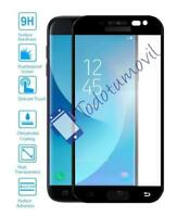 Protector of Screen for Galaxy J5 2017 Black Full Glass Tempered Curved