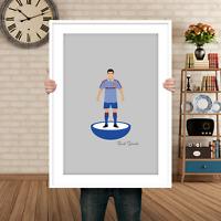 Manchester United Style Subbuteo Print