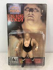 King Kong Bundy 1998 WWF Figures Toy Co Legends of Wrestling No Blood MOC