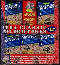 Classic 1994 NFL Draft Picks Football Cards #74220 Factory Sealed