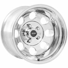 Pro Comp 69 Series Vintage, 15x10 Wheel with 5 on 4.5 Bolt Pattern - Polished -