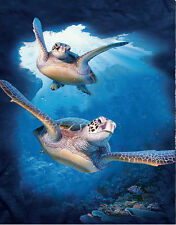 New Sea Turtle Lenticular 3D Picture Animal Poster Painting Home Wall Art Decor