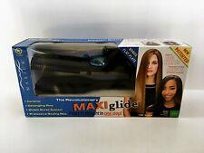 New Maxius Maxiglide One Step Hair Straightening Iron w/ Steam Burst MX597