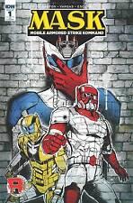 Idw Mask #1 Ri Mobile Armored Strike Kommand 1St Print 1:10 Variant Edition