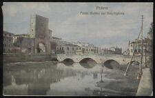 cartolina PADOVA ponte molino sul bacchiglione
