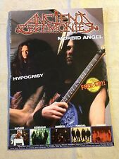 ANCIENT CEREMONIES MAGAZINE Issue #6 (Dec 2000) + CD NEW CONDITION! Heavy Metal
