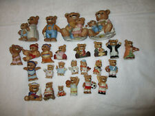 Homco Bears Lot 25 Acrobats Sports Occupation Mom Dad Orchestra assorted sizes
