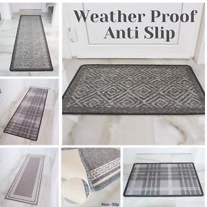 Non Slip Cheap Machine Washable Grey Modern Door Mat