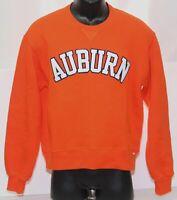 Vintage Auburn Tigers Russell Athletic Sweatshirt Women's Large Orange Crew Neck