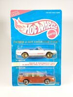 1995 Hot Wheels Avon Father & Son Collector Pack Mustang Set - White/Red - NEW