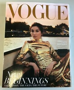 British Vogue August 2021 Subscribers Edition Gemma Chan NEW (A2030)