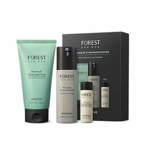 [INNISFREE] forest for men All-in-one Duo set - Anti-aging +++ FREE GIFT