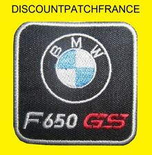 BMW F 650 GS 5,5x5,5 cm. Patch écusson thermocollant aufnäher embroided patches.