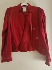 American Girl Photographer red jacket, girls size 14, New without tags