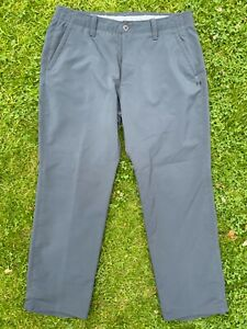 Under Armour ColdGear Infrared Grey Polyester Loose fit Golf trousers 36 x 30