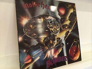 Motörhead – Bomber 1979 1st UK Press EX Vinyl LP Great Copy!