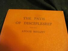 PATH OF DISCIPLESHIP BY ANNIE BESANT 1961 FIRST EDITION