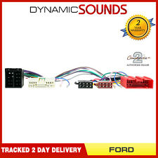 CT10FD07 Bluetooth Parrot SOT Lead T Harness ISO Adaptor For FORD Ranger 07-2012